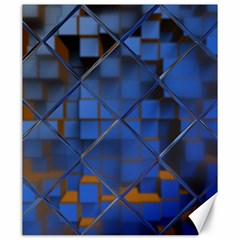 Glass Abstract Art Pattern Canvas 20  x 24