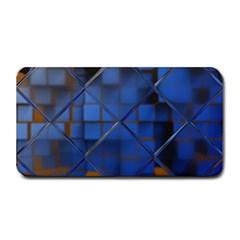 Glass Abstract Art Pattern Medium Bar Mats