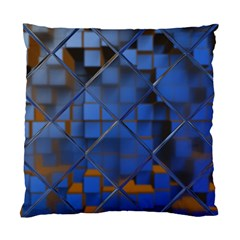 Glass Abstract Art Pattern Standard Cushion Case (two Sides)