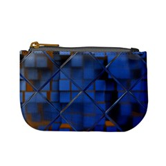 Glass Abstract Art Pattern Mini Coin Purses