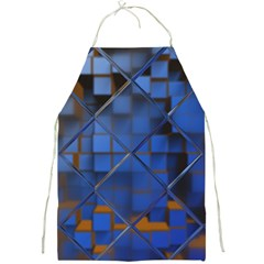 Glass Abstract Art Pattern Full Print Aprons