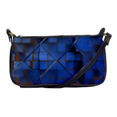 Glass Abstract Art Pattern Shoulder Clutch Bags