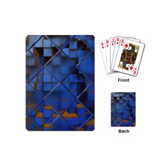 Glass Abstract Art Pattern Playing Cards (mini)