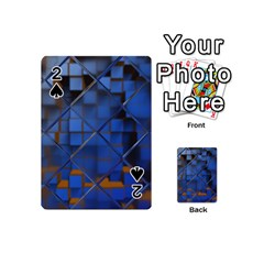 Glass Abstract Art Pattern Playing Cards 54 (Mini)