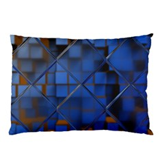 Glass Abstract Art Pattern Pillow Case (Two Sides)