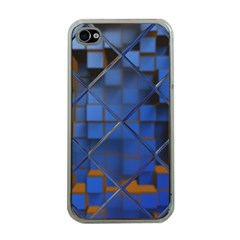 Glass Abstract Art Pattern Apple iPhone 4 Case (Clear)
