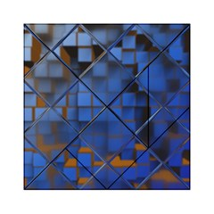 Glass Abstract Art Pattern Acrylic Tangram Puzzle (6  x 6 )