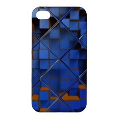 Glass Abstract Art Pattern Apple iPhone 4/4S Premium Hardshell Case