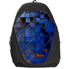 Glass Abstract Art Pattern Backpack Bag