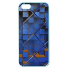 Glass Abstract Art Pattern Apple Seamless iPhone 5 Case (Color)
