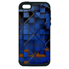 Glass Abstract Art Pattern Apple iPhone 5 Hardshell Case (PC+Silicone)