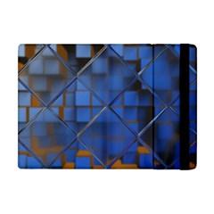 Glass Abstract Art Pattern Apple iPad Mini Flip Case