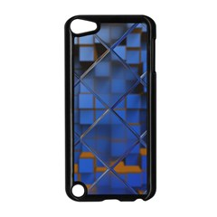 Glass Abstract Art Pattern Apple iPod Touch 5 Case (Black)