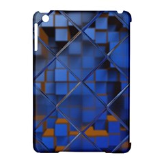 Glass Abstract Art Pattern Apple iPad Mini Hardshell Case (Compatible with Smart Cover)