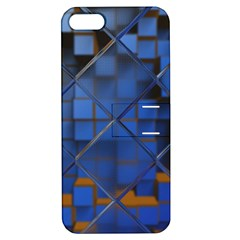 Glass Abstract Art Pattern Apple Iphone 5 Hardshell Case With Stand