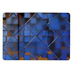 Glass Abstract Art Pattern Samsung Galaxy Tab 10.1  P7500 Flip Case