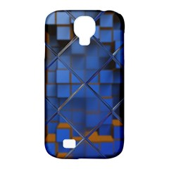 Glass Abstract Art Pattern Samsung Galaxy S4 Classic Hardshell Case (pc+silicone)