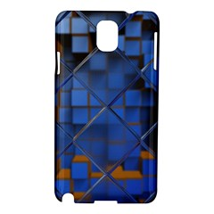 Glass Abstract Art Pattern Samsung Galaxy Note 3 N9005 Hardshell Case