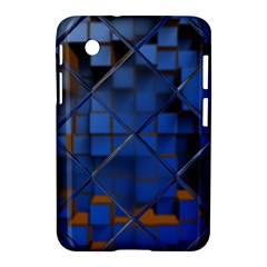 Glass Abstract Art Pattern Samsung Galaxy Tab 2 (7 ) P3100 Hardshell Case