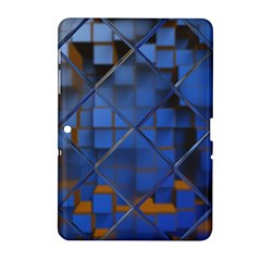 Glass Abstract Art Pattern Samsung Galaxy Tab 2 (10.1 ) P5100 Hardshell Case