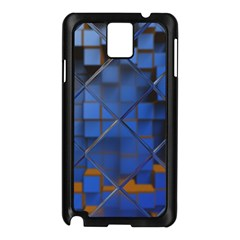 Glass Abstract Art Pattern Samsung Galaxy Note 3 N9005 Case (Black)