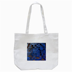 Glass Abstract Art Pattern Tote Bag (white)