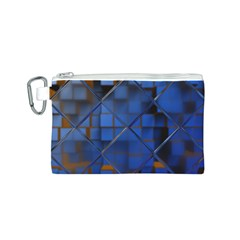 Glass Abstract Art Pattern Canvas Cosmetic Bag (S)