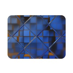 Glass Abstract Art Pattern Double Sided Flano Blanket (mini)