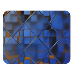 Glass Abstract Art Pattern Double Sided Flano Blanket (Large)
