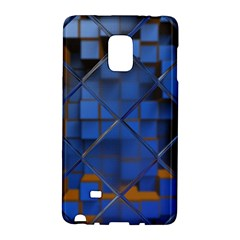 Glass Abstract Art Pattern Galaxy Note Edge