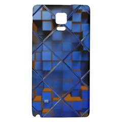 Glass Abstract Art Pattern Galaxy Note 4 Back Case