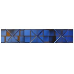 Glass Abstract Art Pattern Flano Scarf (large)