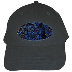Background Abstract Art Pattern Black Cap