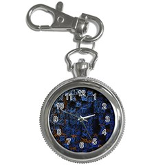 Background Abstract Art Pattern Key Chain Watches