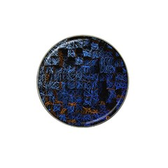 Background Abstract Art Pattern Hat Clip Ball Marker (4 Pack)
