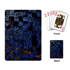 Background Abstract Art Pattern Playing Card