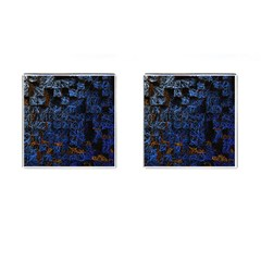 Background Abstract Art Pattern Cufflinks (Square)