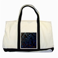 Background Abstract Art Pattern Two Tone Tote Bag
