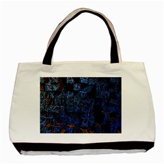 Background Abstract Art Pattern Basic Tote Bag (two Sides)