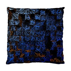 Background Abstract Art Pattern Standard Cushion Case (two Sides)