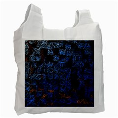 Background Abstract Art Pattern Recycle Bag (Two Side)