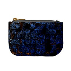 Background Abstract Art Pattern Mini Coin Purses