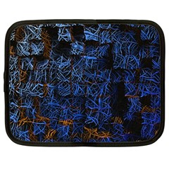 Background Abstract Art Pattern Netbook Case (XL)