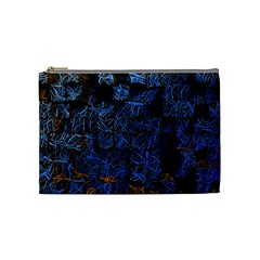 Background Abstract Art Pattern Cosmetic Bag (Medium)