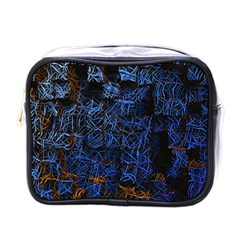 Background Abstract Art Pattern Mini Toiletries Bags