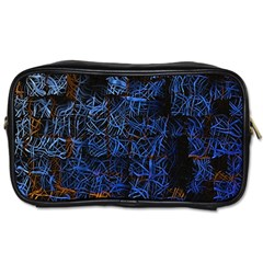 Background Abstract Art Pattern Toiletries Bags