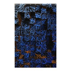 Background Abstract Art Pattern Shower Curtain 48  x 72  (Small)