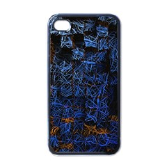 Background Abstract Art Pattern Apple Iphone 4 Case (black)
