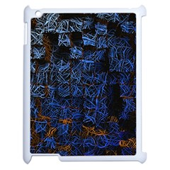 Background Abstract Art Pattern Apple Ipad 2 Case (white)