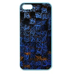 Background Abstract Art Pattern Apple Seamless iPhone 5 Case (Color)